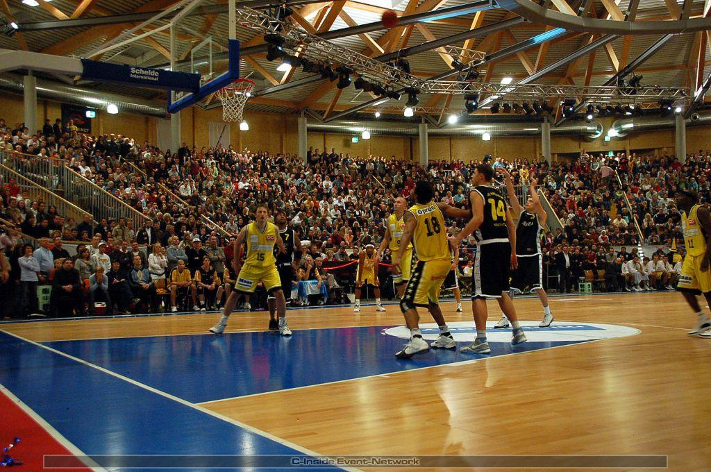 1. Basketball Bundesliga MERLINS vs. Gießen 46ers