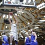 HauptrundeSpieltag 26 HauptrundeCrailsheim Merlins vs. Basketball Löwen Braunschweig