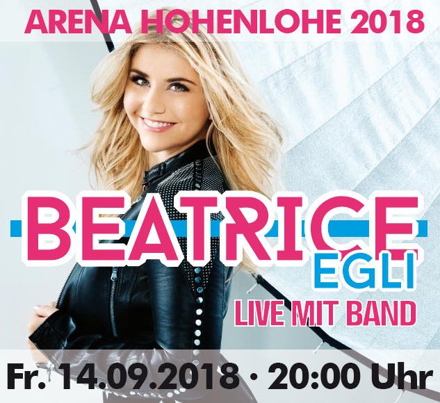 Beatrice Egli Live mit Band