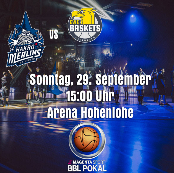 HAKRO Merlins vs. EWE Baskets Oldenburg